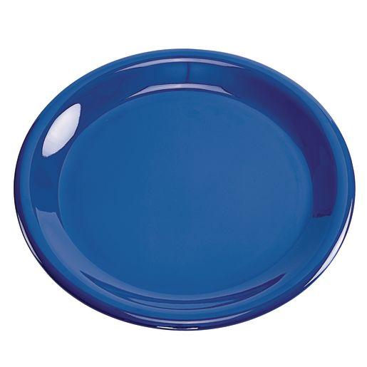 Image of Melamine 9 Plate- Blue