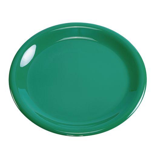 Image of Melamine 9 Plate- Green
