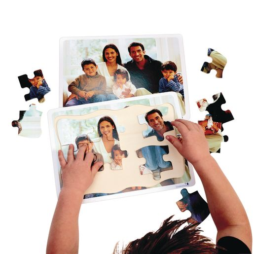 Excellerations® Multicultural Family Puzzles - Set of 12