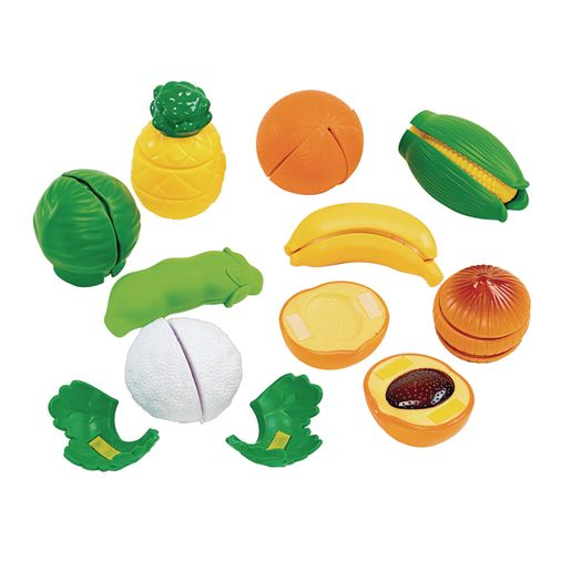 Image of Cut and Play Food- Fruits and Vegetables 35-Pieces