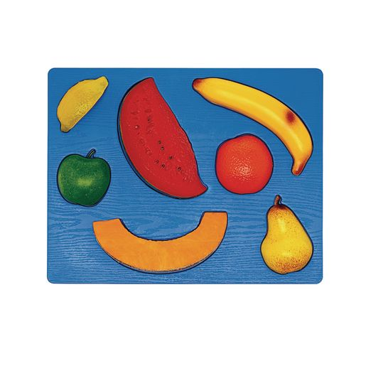 Image of 3D Chunky Food Puzzle- Fruit