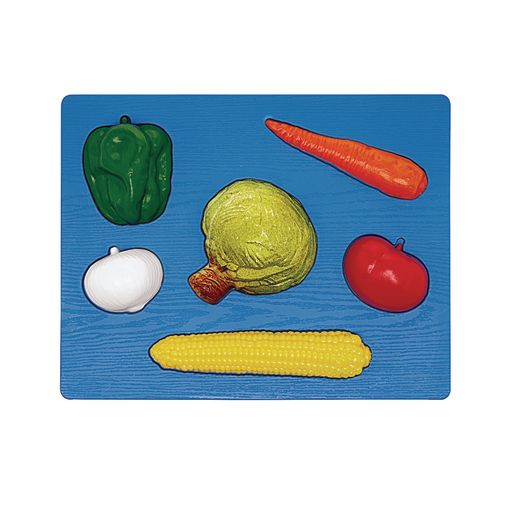 Image of 3D Chunky Food Puzzle- Vegetables