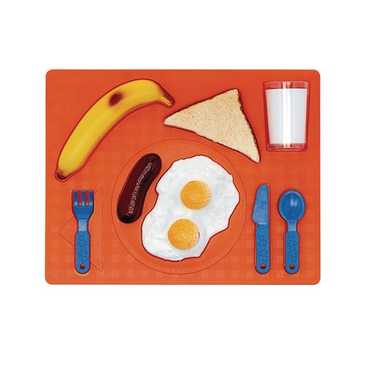 Image of 3D Chunky Food Puzzle- Breakfast