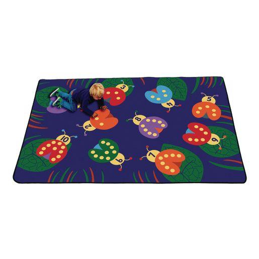 Lady Bug Premium Carpet - 8' x 12' Rectangle
