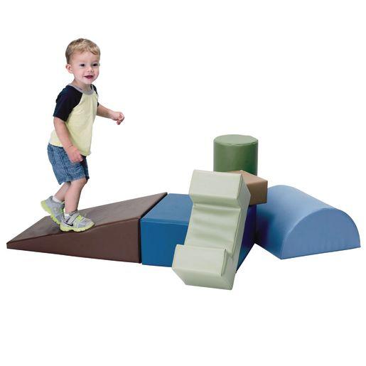 Climb and Play 6 Piece Set -  Woodland