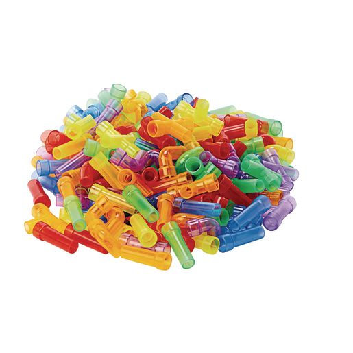 Excellerations® Mini Translucent Pipe Tubes - 360 Pieces