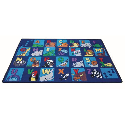 Alpha Animals Seating Premium Carpet - 8' x 12'  Rectangle