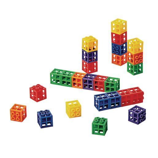 Image of Excellerations Grid Linking Cubes - 300 Pieces