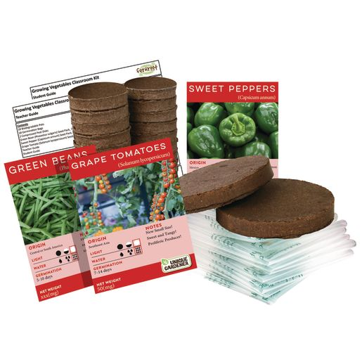 Image of Growing Vegetables Classroom Kit
