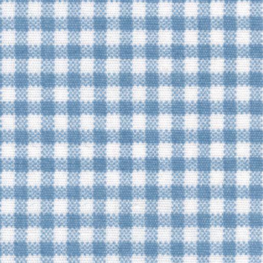 Angels Rest® Gingham Blue Standard Cot Sheet