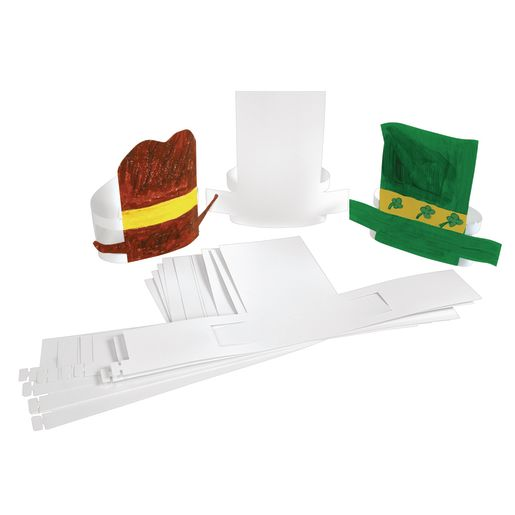 Image of Make-Your-Own Paper Hat - Set of 24