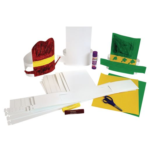 Make-Your-Own Paper Hat - Set of 24