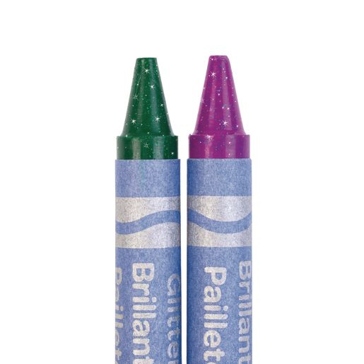 Crayola Glitter Crayons, Set of 24 Colors