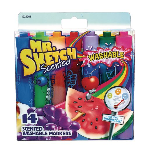 Mr Sketch Washable Scented Markers, Set of 14 Colors