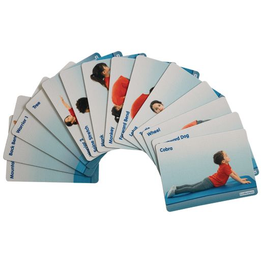 Image of Excellerations Anti-Slip Yoga Pose Activity Pads Set of 14