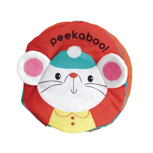 Image of Peekaboo Cloth Book