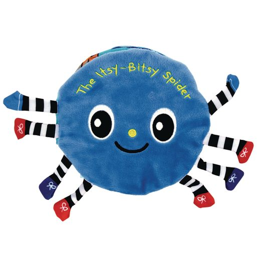 Image of Itsy-Bitsy Spider Cloth Book