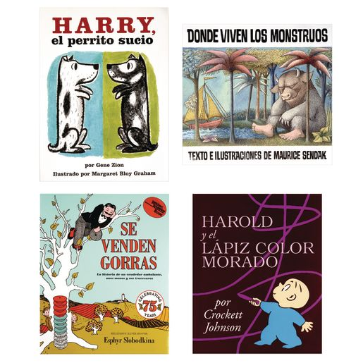Classic Books in Spanish Set of 4