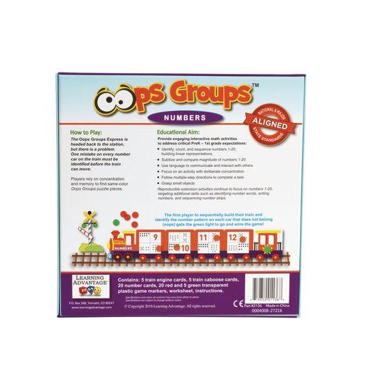 Oops Groups Numbers