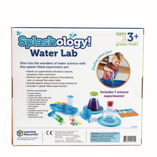 Splashology! Water Lab Science Activity Kit
