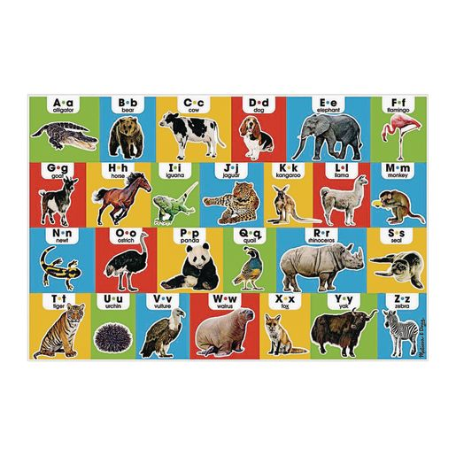Image of Animal Alphabet Floor Puzzle