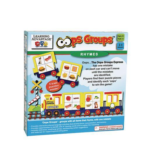 Oops Groups Set of 3 Games