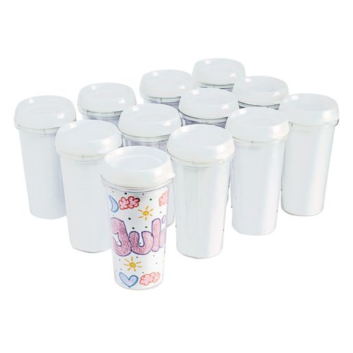 Decorate Your Own Travel Mugs, Set of 12_3
