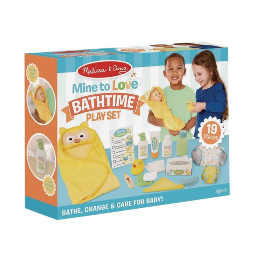Mine to Love Changing and Bath Time Playset