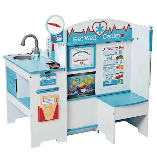 Image of Get Well Wooden Doctor Activity Center