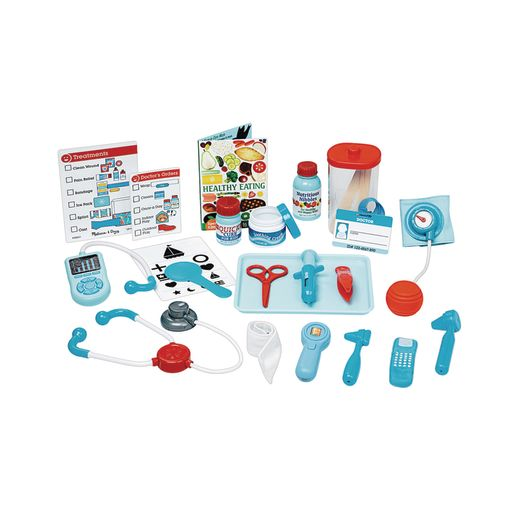 Image of Get Well Doctor's Kit Play Set 25-Pieces