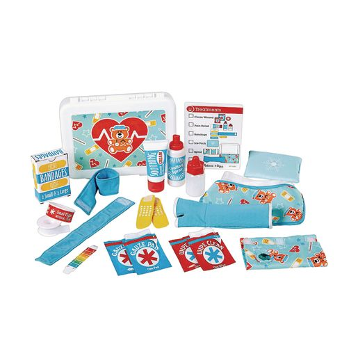 Image of Get Well First Aid Kit Play Set 25-Pieces
