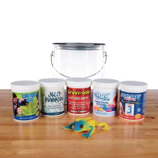 Steve Spangler Larry's Lab Polymer Science Kit