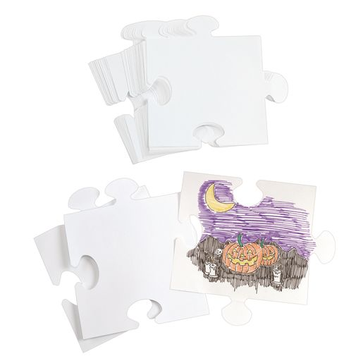 Image of We All Fit Together Giant Puzzle Pieces 30 Pieces