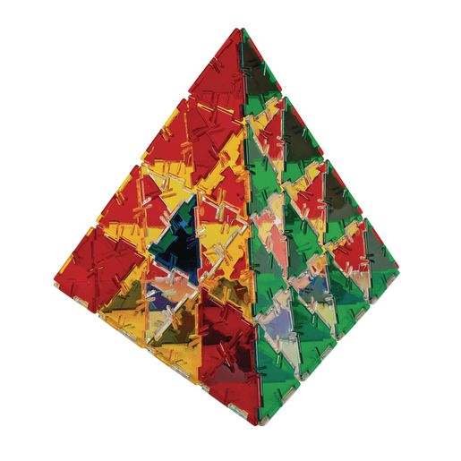 Image of Crystal Polydron 100 Triangles Set