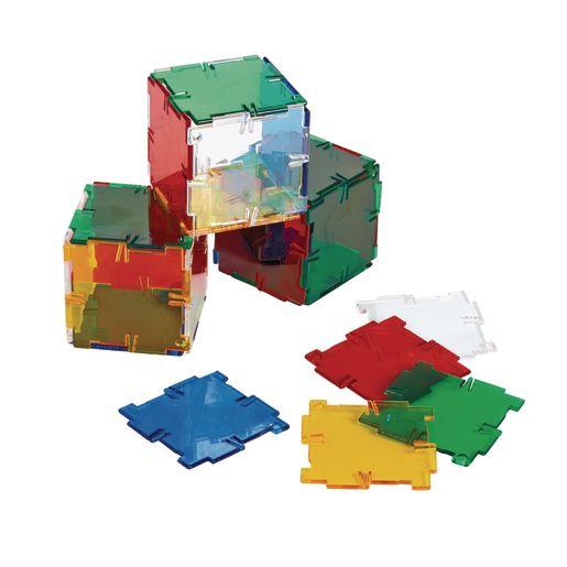 Crystal Polydron 40 Squares Set