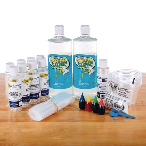 Image of Steve Spangler Science String Slime Classroom Kit