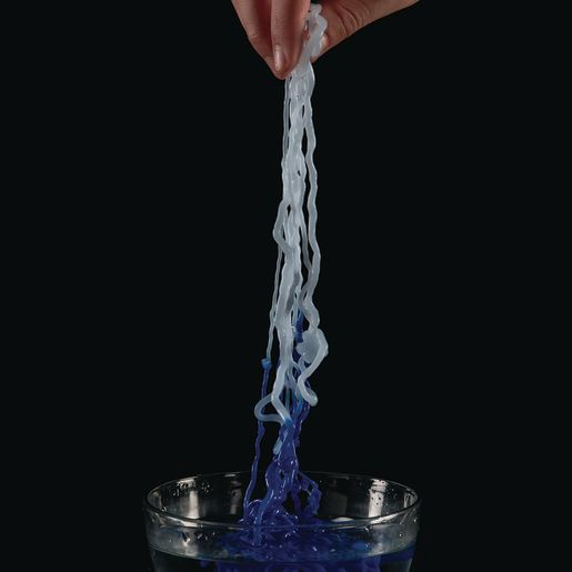 Image of Steve Spangler Blue Color Changing String Slime