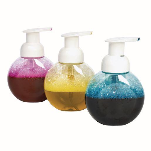 Foam Paint Bottles, Set of 3