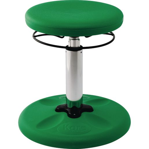 "Adjustable Wobble Stool, 14""-19""H - Green"