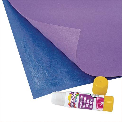 Colorations® Washable Premium White Glue Sticks Set of 60, 0.32 oz ea
