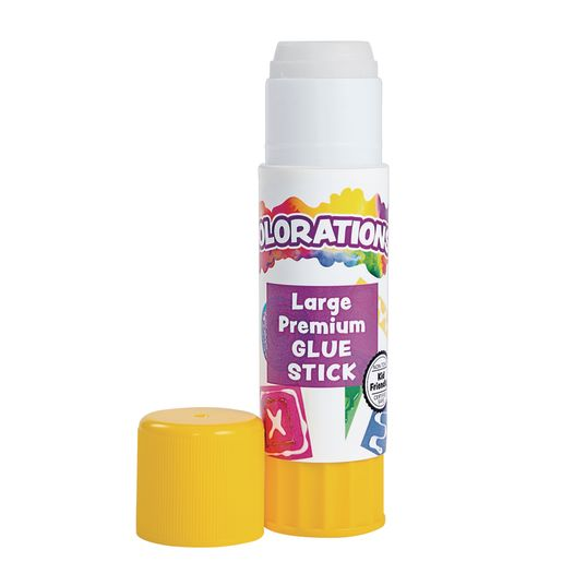 Colorations® Premium Glue Sticks in a Tray - Set of 24