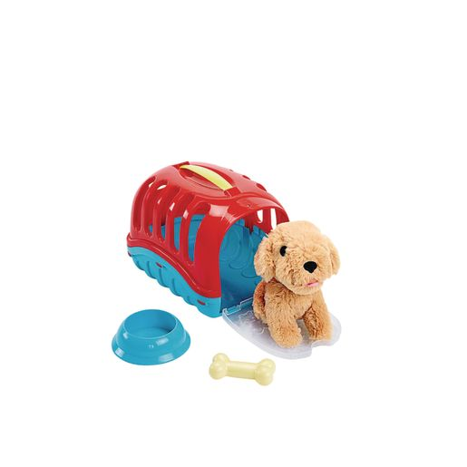 Pretend Vet with Puppy and Carrier - 7 Pieces_1