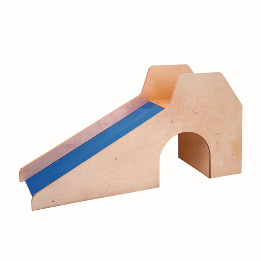 Toddler Slide with Stairs and Tunnel