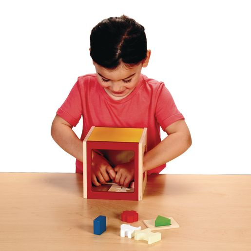 Excellerations® Touch & Guess Puzzle Box