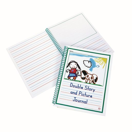 Excellerations® Double Story & Pic Journal Set of 10