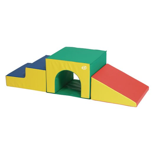 Soft Tunnel Climber, 3 Pc. Set Primary Colors