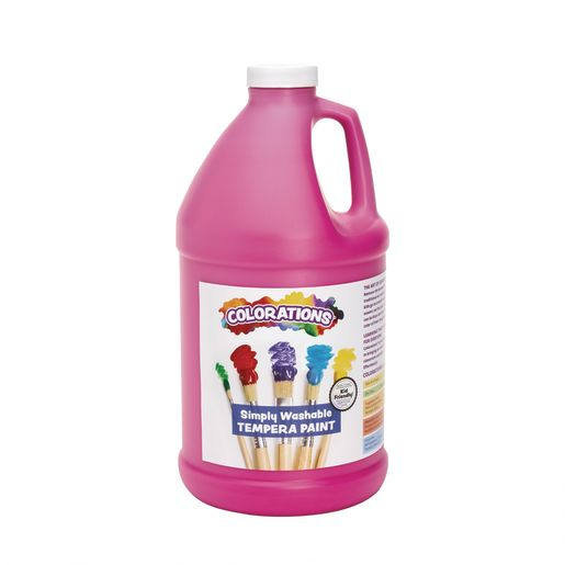 Image of Colorations 1/2 Gallon Magenta Simply Washable Tempera Paint