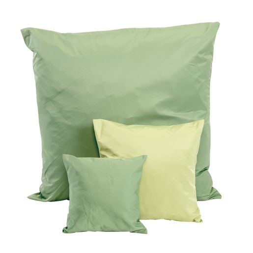 Two-Tone Pillows, Set of 6 - Green/Light Green