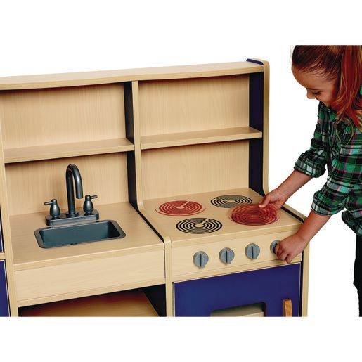 Excellerations® Colorful 4-in-1 Play Kitchen