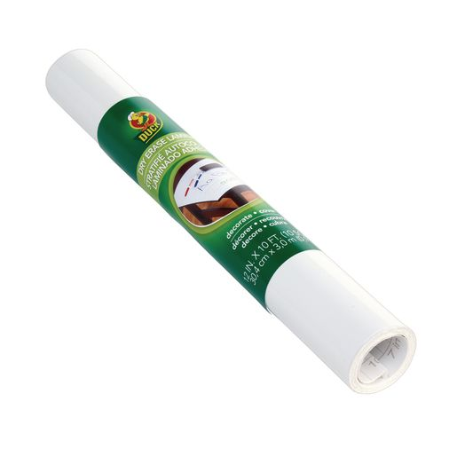 Image of Dry Erase Adhesive Film Roll - 12 in. x 10 ft.